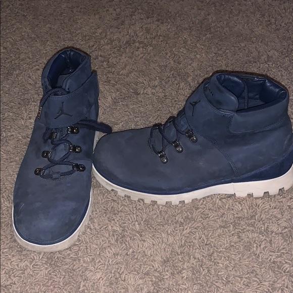 b7edf706e631c1 Jordan Other - Air Jordan Blue suede Boss Boots sz 10.5.